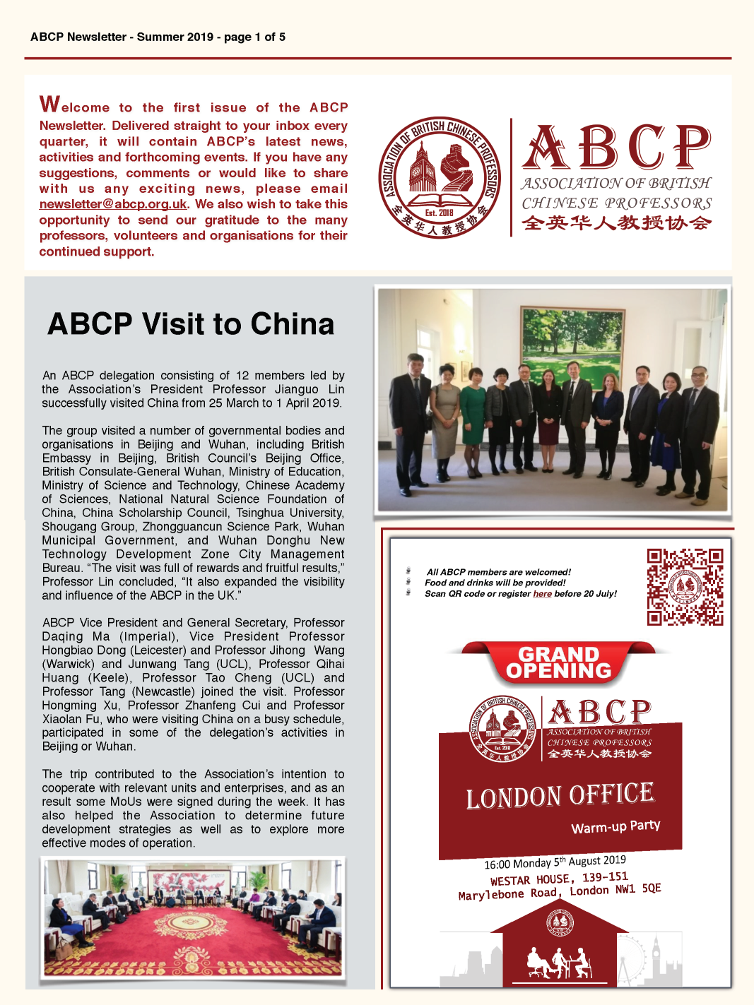 ABCP Newsletters (June 2019)